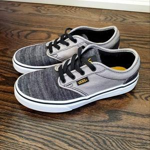 Vans Black Denim Sneakers Size 2